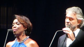 Andrea Bocelli with Heather Headley - Canto Della Terra. Dec.17, 2014