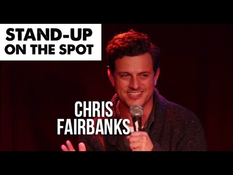 Chris Fairbanks: Bill Cosby Improvised StandUp Comedy