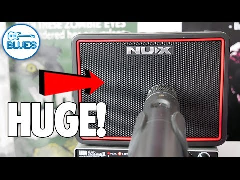 NUX Mighty BT Lite Portable Amp - 3 Watts Of AWESOME!
