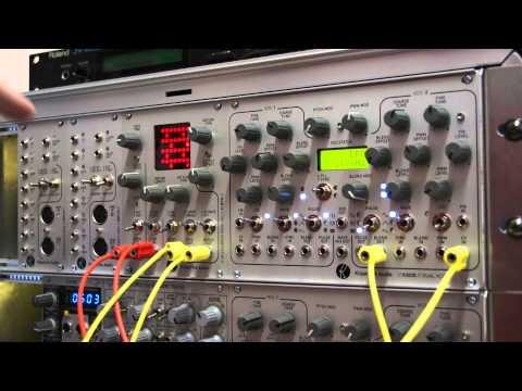 Modular Synth: K4815 Pattern Generator Demo