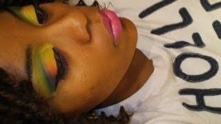 ♥Autism Awareness  Makeup Inspired Look♥ Thumbnail