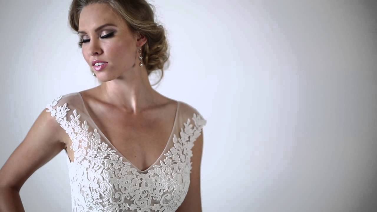 Bridal Secrets Presents Maggie Sottero - Lucinda - YouTube