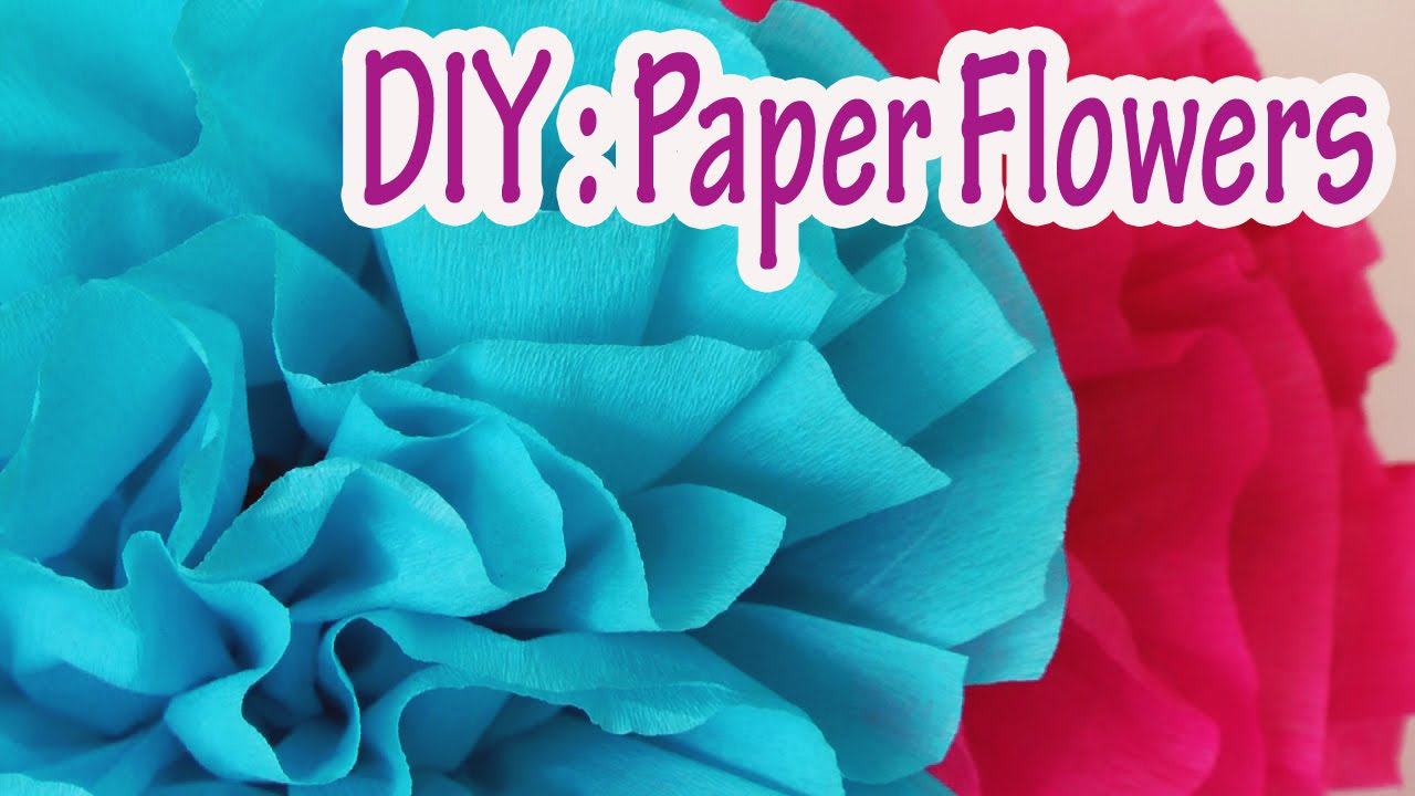 Diy crafts how to make crepe paper flowers very easy ana diy crafts how to make crepe paper flowers very easy ana diy crafts youtube mightylinksfo
