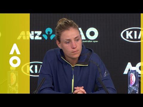 Angelique Kerber press conference (SF) | Australian Open 2018