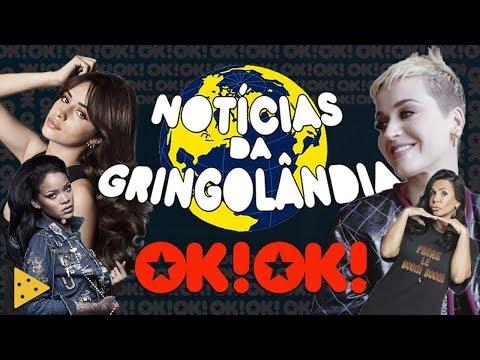 Katy Perry no Brasil, Camila empurrada e Rihanna pistola