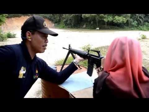 Latihan Menembak SMKTS Tangkak Muar 2013