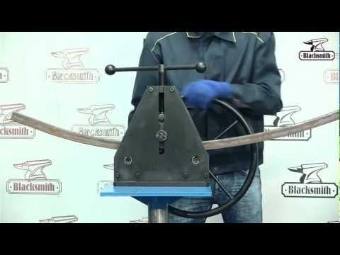 Трубогиб ручной MTB31-40, профилегиб Blacksmith