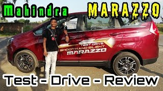 Mahindra Marazzo Test Drive | Marazzo Review After using | How is breaking | Acceleration | comfort