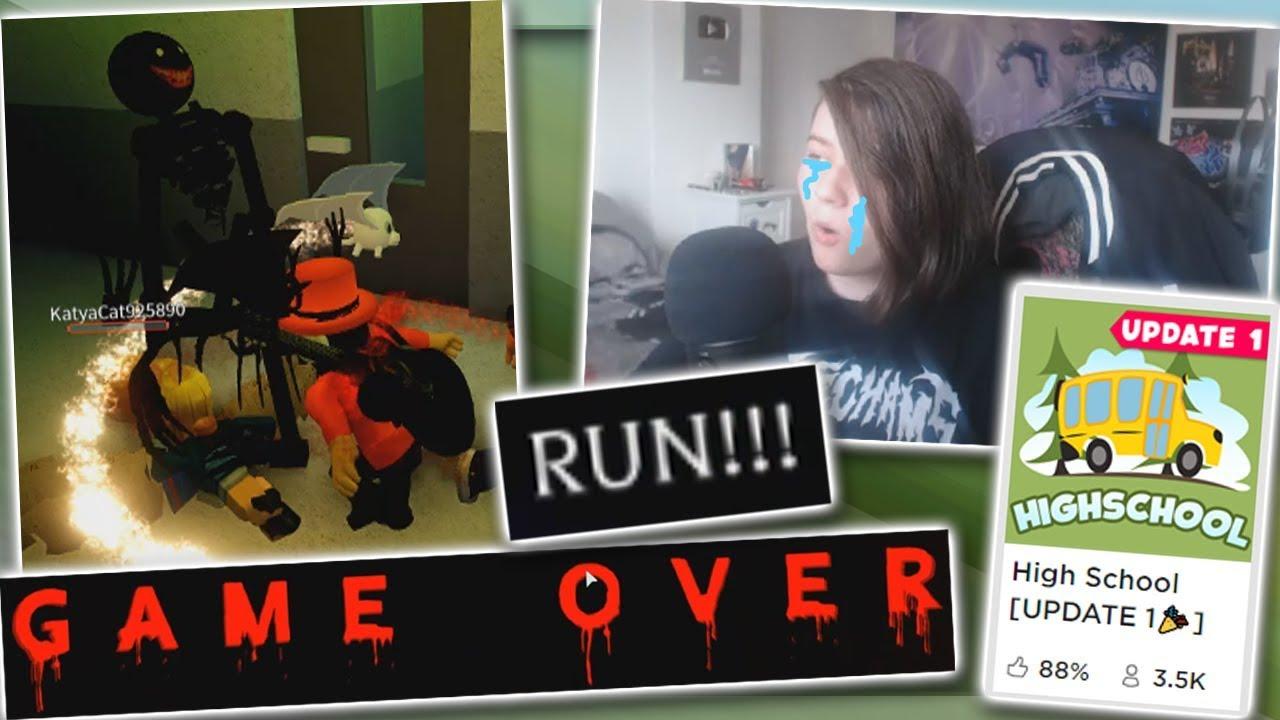 Roblox Demon Bullies Me In High School Youtube