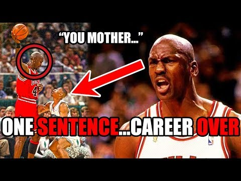 How Michael Jordan DESTROYED This Player's Career With ONE Sentence (Ft. NBA Trash Talk)