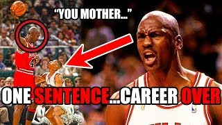 How Michael Jordan DESTROYED This Player