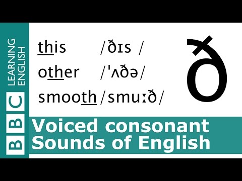 Say this, other, smooth. Voiced Consonants. Pronunciation Tips.