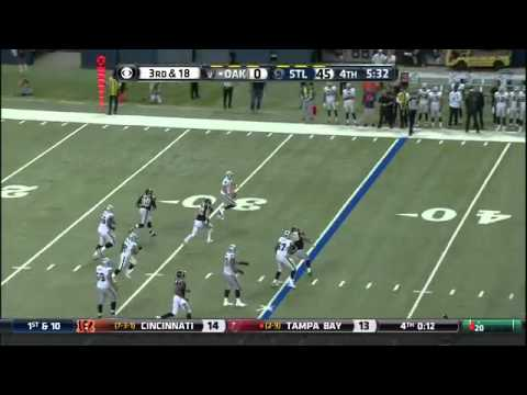 Matt Schaub Pick 6 vs Rams