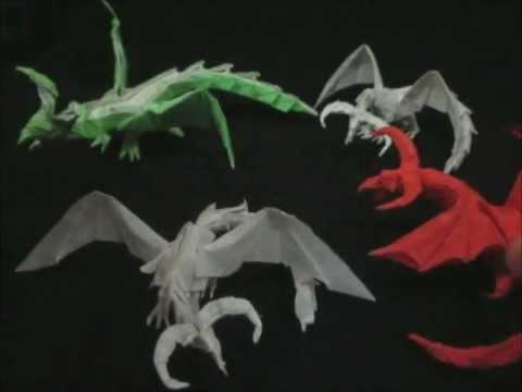 Origami Darkness Dragon 10 Attempts Tadashi Mori