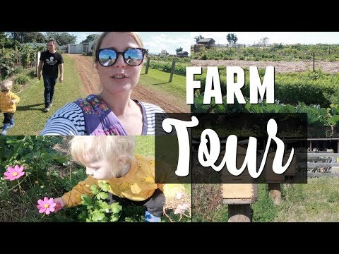 Our DREAM FARM (Farm Tour) | Australian Family Vloggers