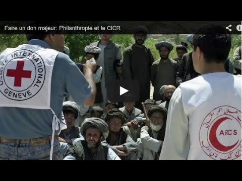 Making a major donation: Philanthropy and the ICRC