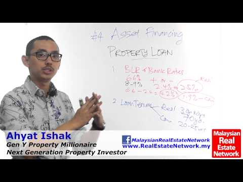 Property Investment Malaysia Tips - Asset Financing -Part 8- Property Loans- Episode 47
