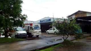アキーラさん発見①親日国パラオ・マラカル島・日本名をつける現地自動車修理屋,Yo-jiro Auto-motive,Palau