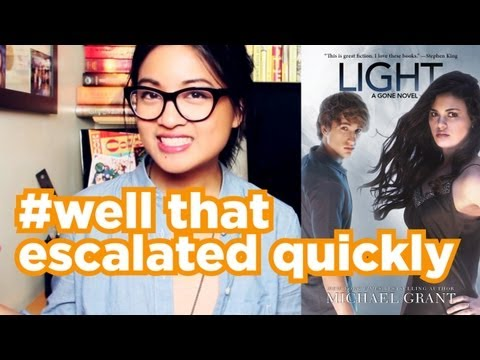 Light By Michael Grant   Book Review