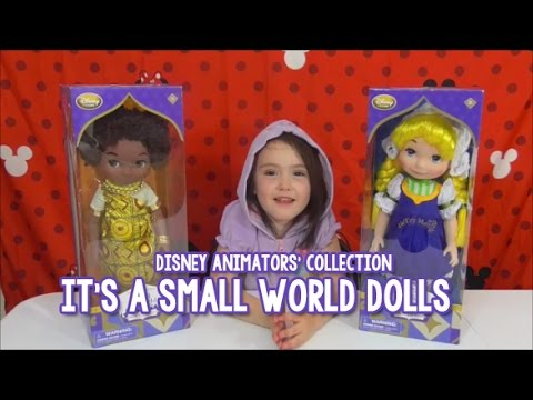 Disney Animators' Collection It's A Small World Dolls ...