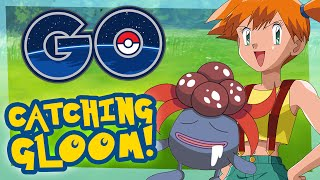Pokemon Go Gameplay - Radar Guide, Catching GLOOM & PIKACHU!