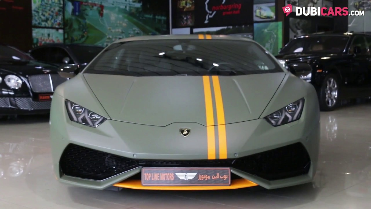 2017 Lamborghini Huracan LP 610 4 AVIO V10 LIMITED EDITION