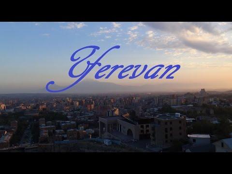 Yerevan. Ереван.  Прогулка по Еревану.