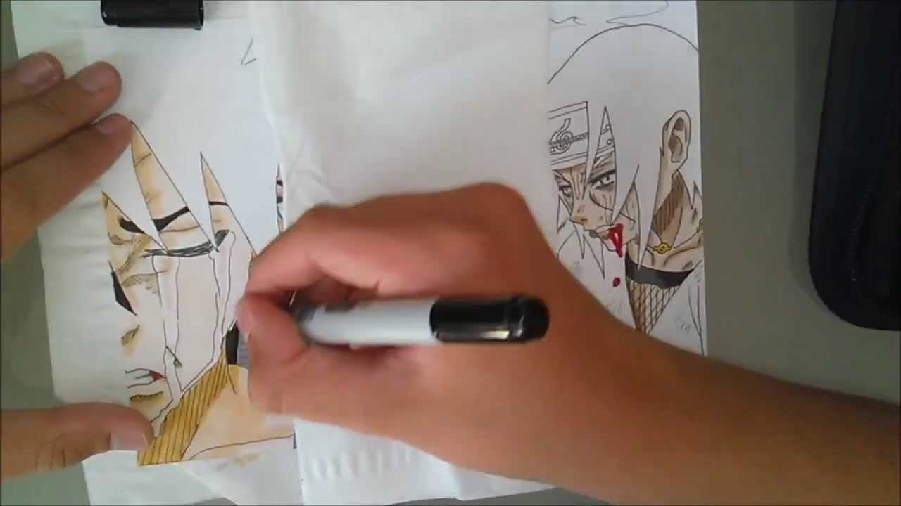 How to draw sasuke itachi comment dessiner sasuke itachi youtube - Comment dessiner sasuke ...