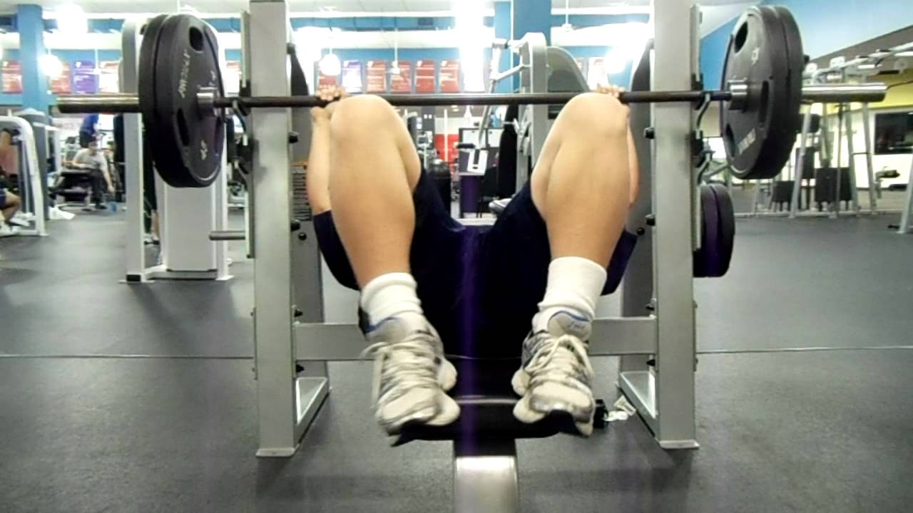 Year Old Bench Press Record