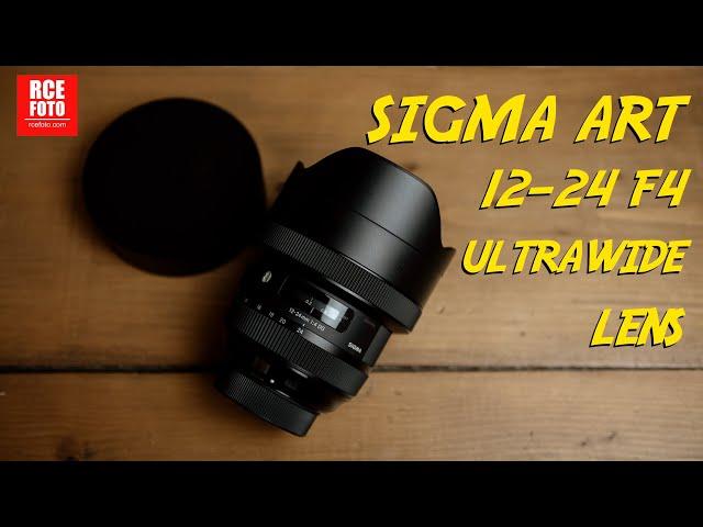 SIGMA ART 12-24 F4 | Test con... RCE FOTO