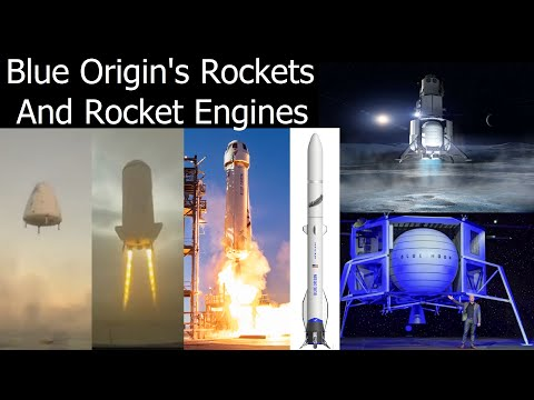 Blue Origin's Rockets and Rocket Engines