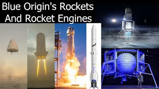 Blue Origin's Rockets and Rocket Engines