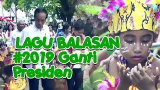 Video Lagu balasan 2019 ganti presiden | Jokowi dua periode | Jokowi Sibuk Kerja HD download MP3, 3GP, MP4, WEBM, AVI, FLV September 2018