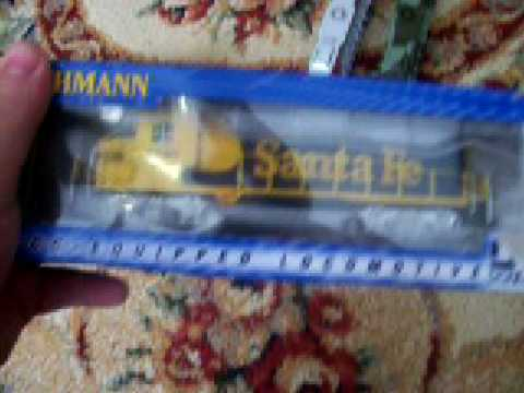 my ho scale model train set