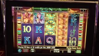 7 Free Spins on Sirens Bonus Round at $30/bet in Blackhawk CO