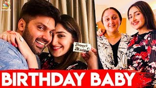 Sayyeshaa Romantic Birthday With Arya | Latest Tamil Cinema News