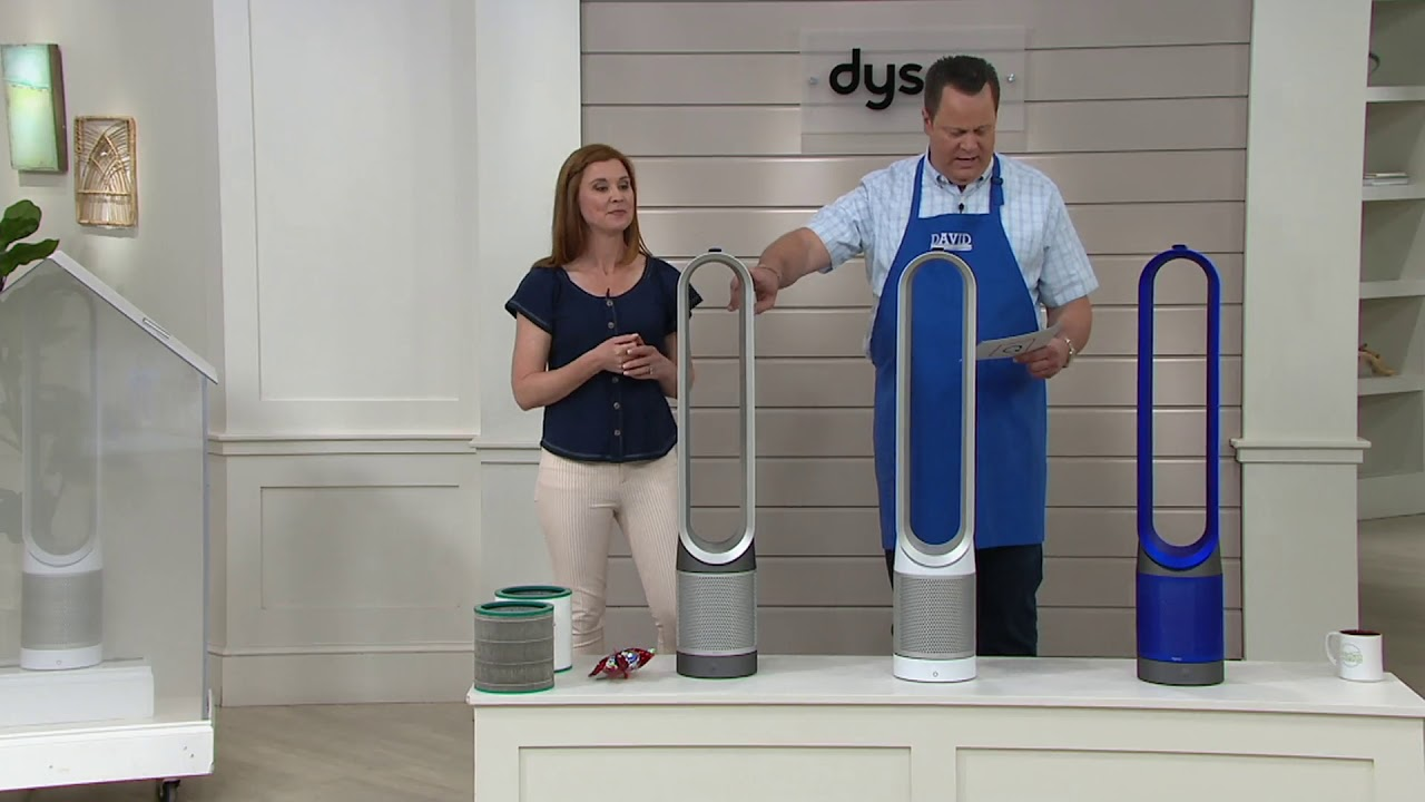 Dyson Tp01 Pure Cool Tower Fan Air Purifier On Qvc Youtube