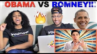 "Epic Rap Battles Of History ""Barack Obama vs Mitt Romney"" Reaction!!"