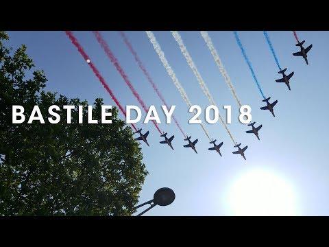 Bastille Day Paris 2018 - Parade and Fireworks - (Bastille Day Parade)