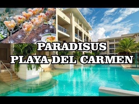 Paradisus Playa del Carmen La Perla & La Esmeralda 2 min tour