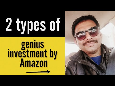 Amazon's 2 types of investments || Ashish Shukla from DEEP KNOWLEDGE
