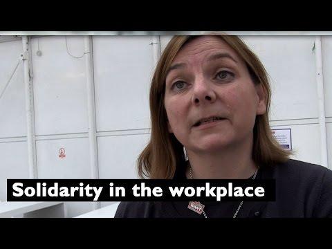 University and College Union (UCU): Sally Hunt