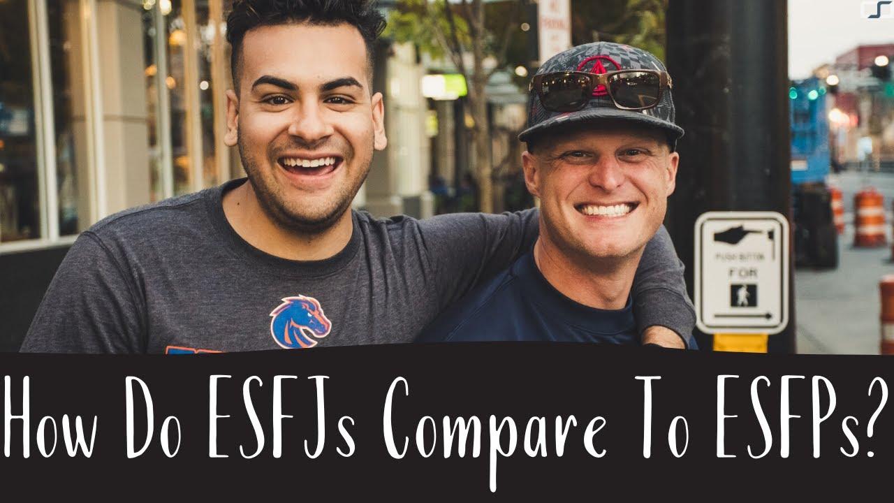 S8E5 – How Do ESFJs Compare To ESFPs? | C S  Joseph