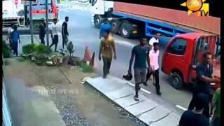 UNBLIVABLAIE ACCIDENT IN SRI LANKA - LIVE CCTV
