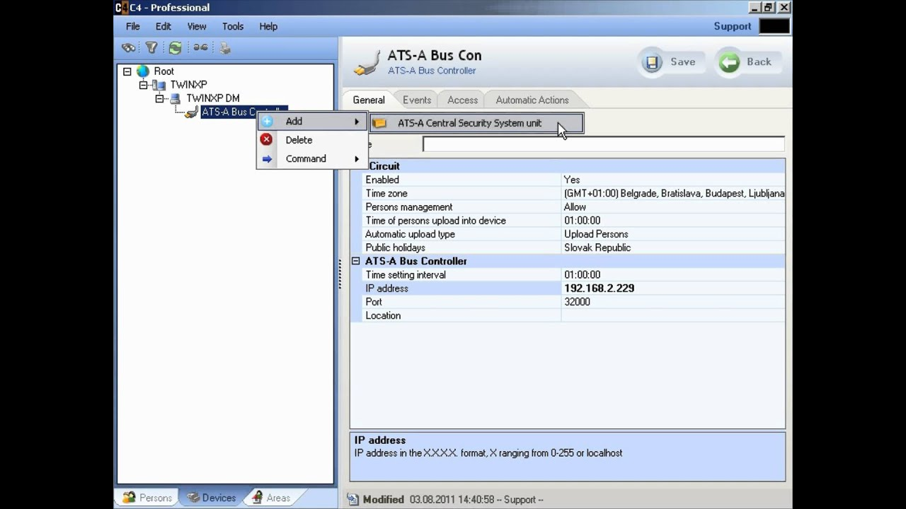 C4 ats advanced youtube for Ats software
