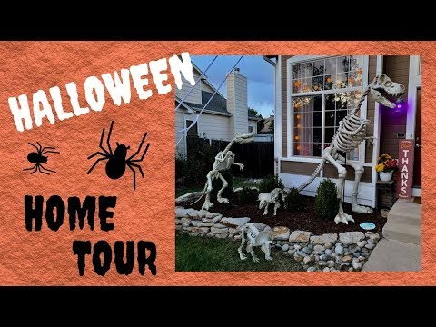 Halloween Home Tour 2019 ~ Join Our Dinosaurs! 👻🎃🦖