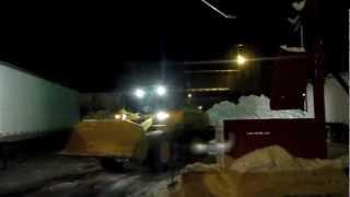 Kenworth Dump Truck Hauling Snow