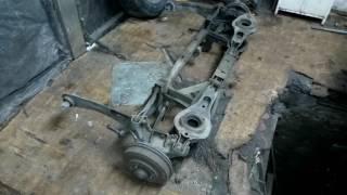 Ремонт задней подвески автомобиля Форд Фокус