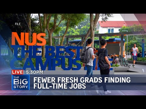 Fewer new graduates in full-time work, but earn higher salar