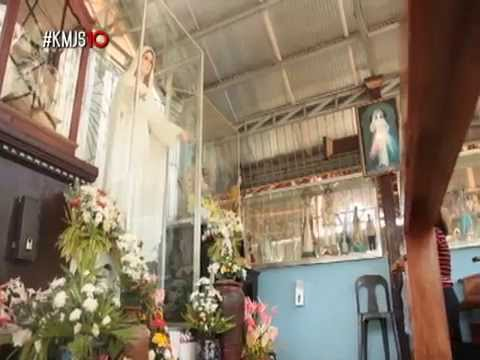 Weeping image of Mary Mediatrix in Leyte : Miracle or man-made? | KMJS